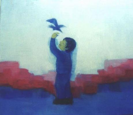 青い鳥と少年