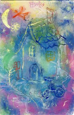 空に浮かぶ家