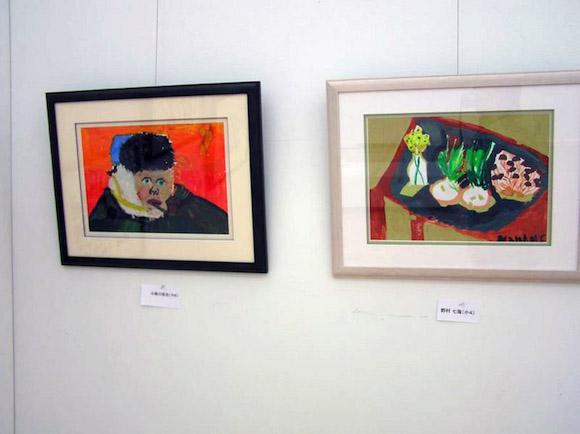 ゴッホの絵の模写や静物画